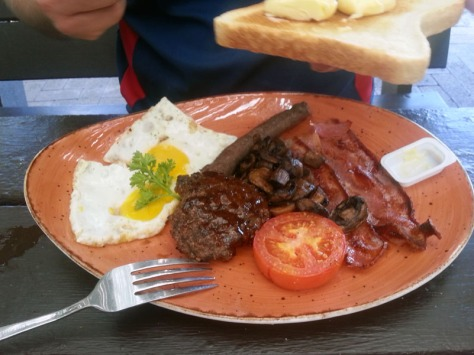 Breakfast at Driftwood Cafe