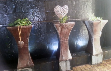 Heart fountains at Ruslamere