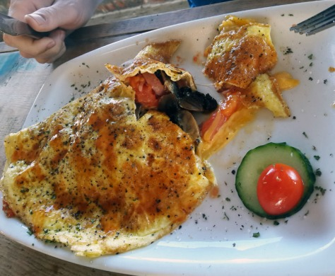 Chef's omelette at McPherson's