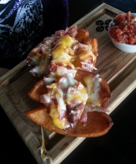 Potato skins at Dropkick Murphys