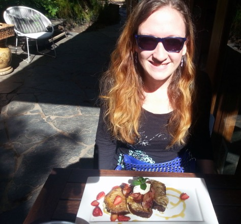 French toast at Madame Zingara