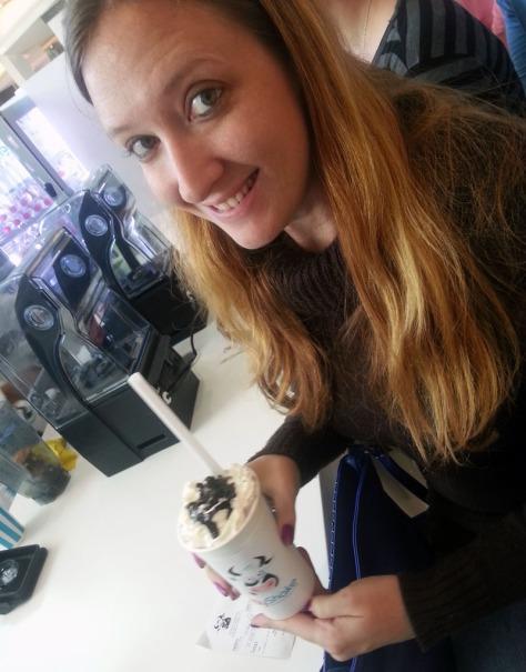 Orea milkshake at MyShake, Canal Walk