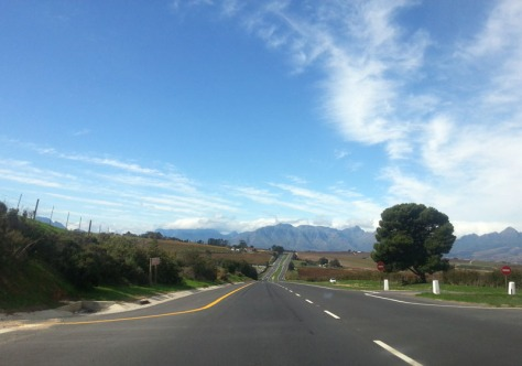 Road to Stellenbosch