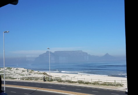 Table Mountain from Primi