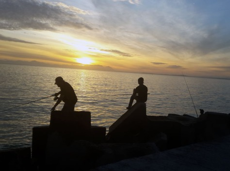 Fishermen in Gordon's Bay