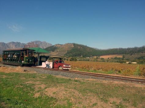 Rickety Bridge Winery tram