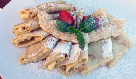 Pancakes at Good Food & Co in Franschhoek