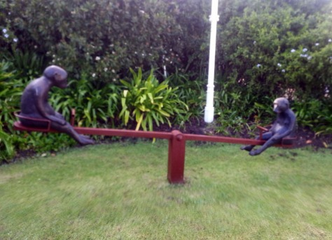Monkey seesaw