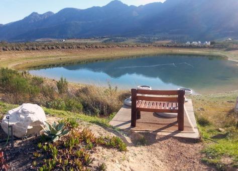 Haute Cabriere bench