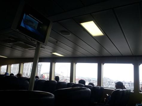 Sikhululekile ferry to Robben Island