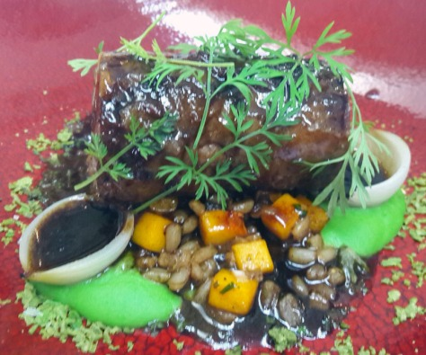18-hour Karoo lamb at Grande Provence