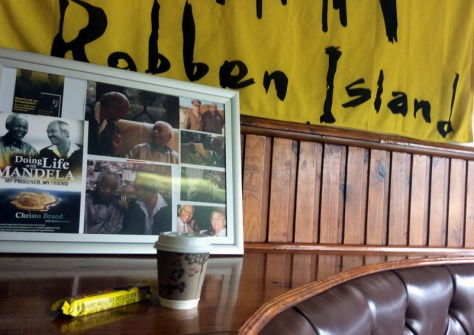 Coffee on Robben Island
