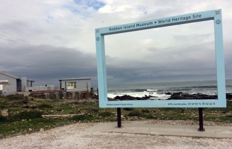 Robben Island photo frame