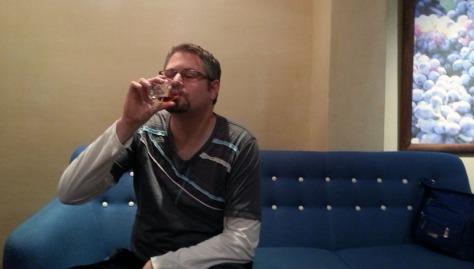KWV brandy tasting