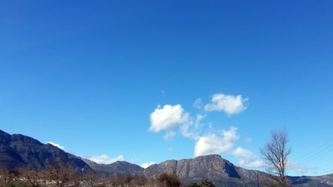 Clouds in Paarl