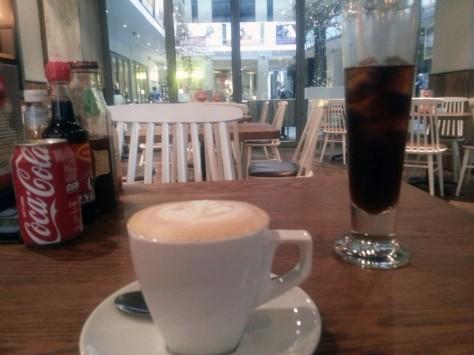 Cappuccino at Doppio Zero