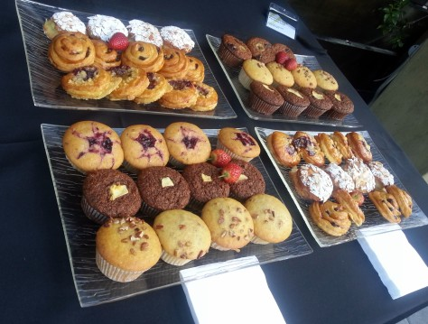 Pastries at Business of Design, Inner City Ideas Cartel