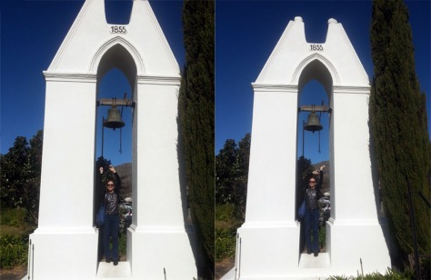Church bell in Franschhoek