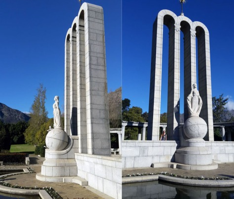 Huguenot Monument in Franschhoek