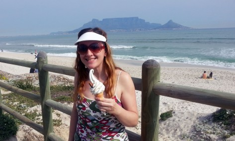 Ice cream at Table Mountain