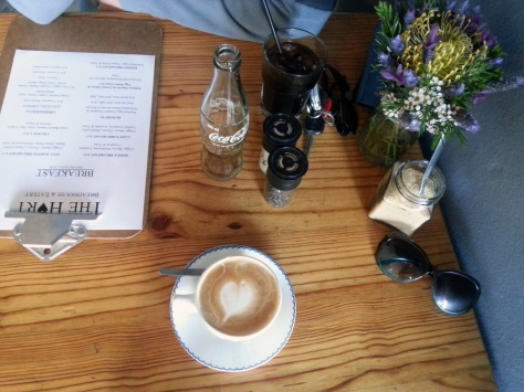Cappuccino at The Hart in Melkbos