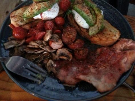 Gary's Breakfast at The Hart