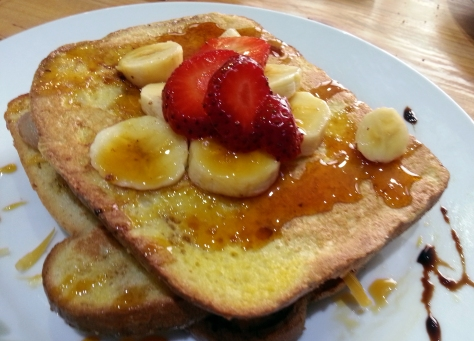 French toast at The Daily