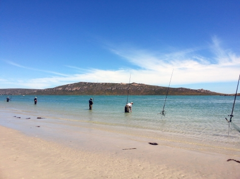 Fishermen at Langebaan