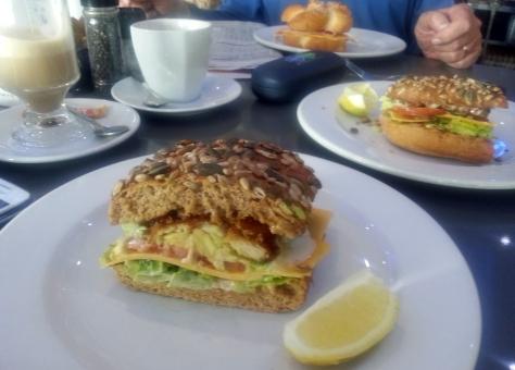 Chicken schnitzel at Carlucci's