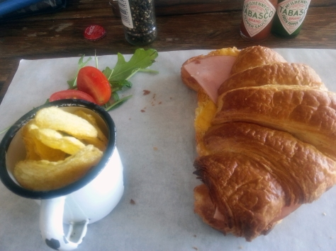 Croissant at Bread & Butter