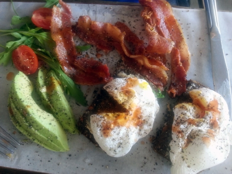 Banting breakfast at Bread & Butter