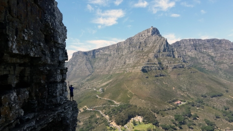 View from Wally's Cave in Lion's Head