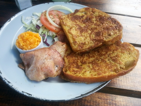 French toast at Melkbos Farmstall