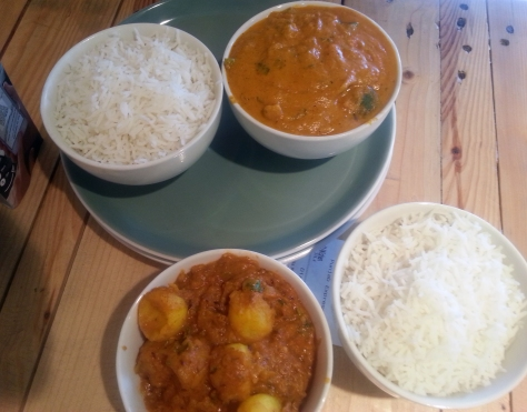 Chicken curry at Punjab Express