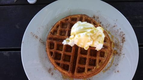 Waffle at Ons Huisie