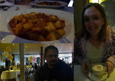 Gnocchi at The Italian Club, Milnerton