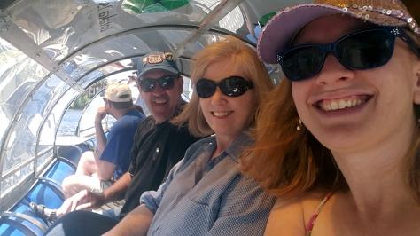On Intaka Island boat