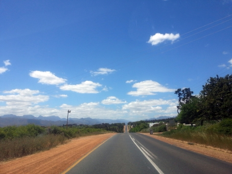 Road to Franschhoek