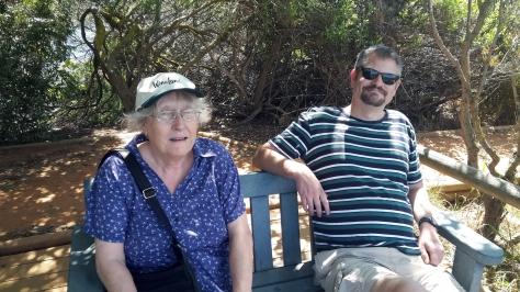 Intaka island bench