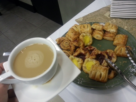 Pastries at Protea Hotel North Wharf