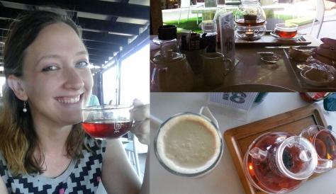 Tea at Pink Olive
