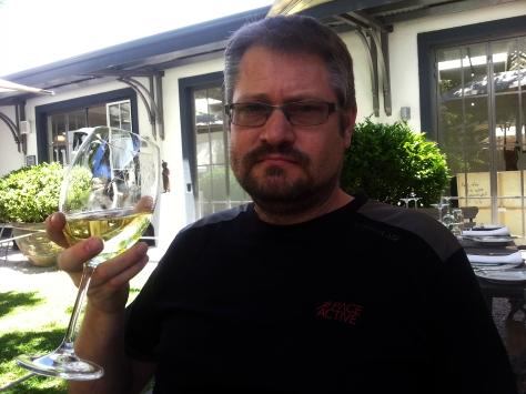 Chardonnay at Grande Provence.