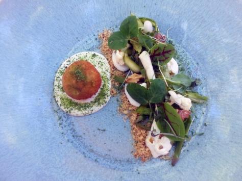 Asparagus salad at Grande Provence