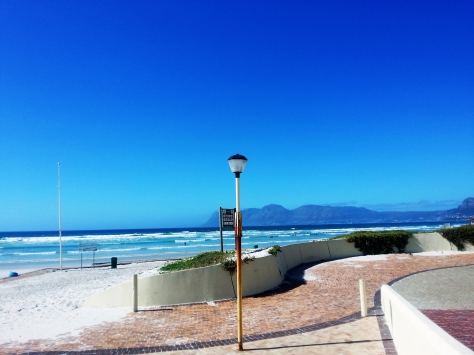 Empty Muizenberg beach