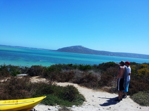 Shark Bay in Langebaan
