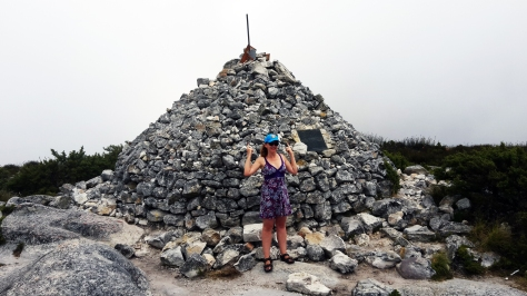 Maclear's Beacon on Table Mountain