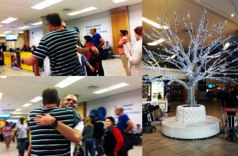 Airport reunion