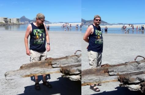 Lagoon Beach shipwreck