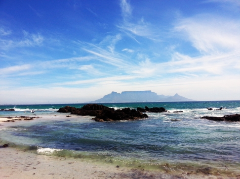 Table Mountain from Blouberg.