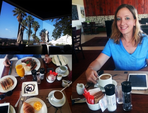 Breakfast at Local Grill in Wellington's Val du Charron